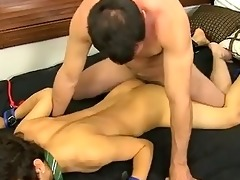 outstanding twinks mike binds up and blindfolds