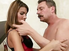 lovely legal age teenager getting screwed by old