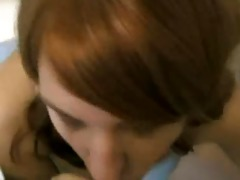 juvenile redhead angel oral facial ejaculation