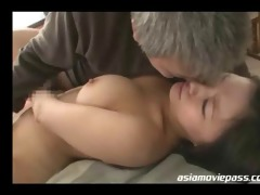 glamorous oriental lady screwed by old dude juc695
