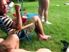 juvenile lascivious couple banging in outdoor