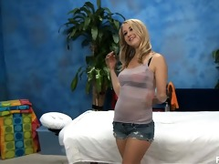 cute 13 year old blond casi enticed and screwed