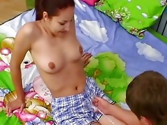 youthful dark brown honey acquires an anal...