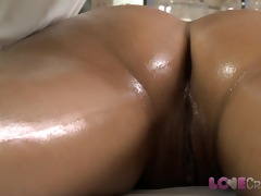 love creampie juvenile angel receives oil massage