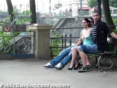 00 y.o. hotty in a street act trio part 10