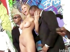 large boobed blond julia ann sucks off in