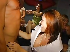 sexy youthful beauties engulfing dong