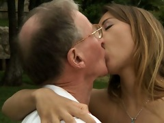 large jock oldman drill nikky\s juvenile ass and