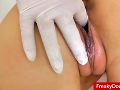 natural breasty jennifer amton at fetish clinic