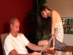 daughter asks seductive questions