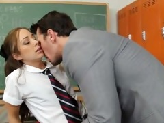 excited student fuck her teacher