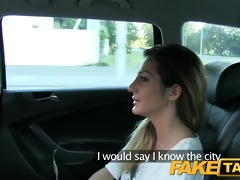 faketaxi hot romanian cutie in backseat
