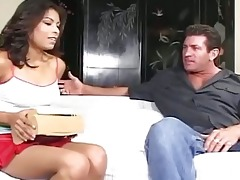 juvenile ebony honey acquires her muff licked and