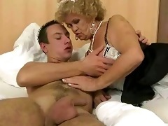 wicked old maid fucking a guy