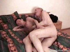 old fart stuffing a chap into his anus