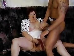 old slutty german harlots receive gangbanged