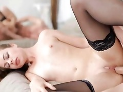 youthful courtesans pleasant fucking in nylons