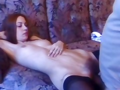 curly vagina kimmie doing filthy fuck with old guy