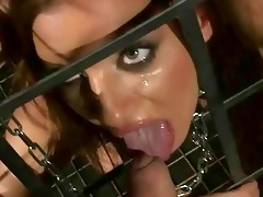 juvenile slavegirl receives screwed gorgeous hard