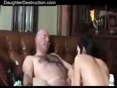 daddy pounds daughter hard