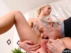 nelya receives her bra buddies licked and sucked