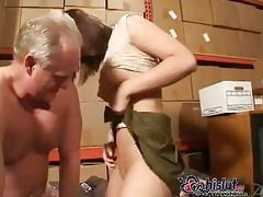 impure old guy fucking rubber doll