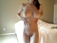 concupiscent hotty makes use of dads large shower